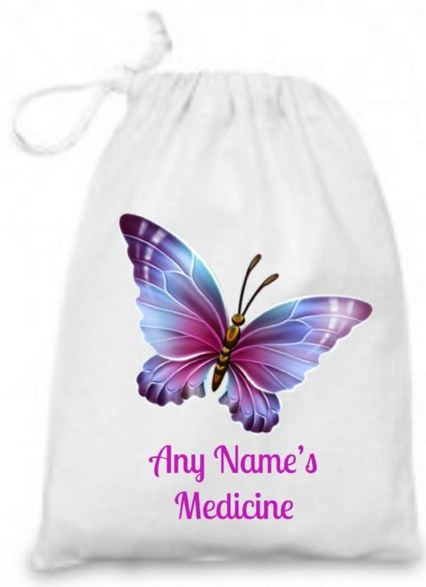 Butterfly Medicine/Inhaler  Bag